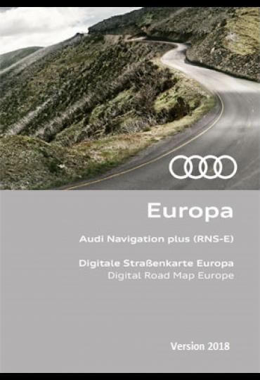 DVD GPS SEAT 2018 RNS-E Média System E Navigation Europe ( Audi RNS-E ) 8P0 060 884 CS / 8P0 919 884 CS