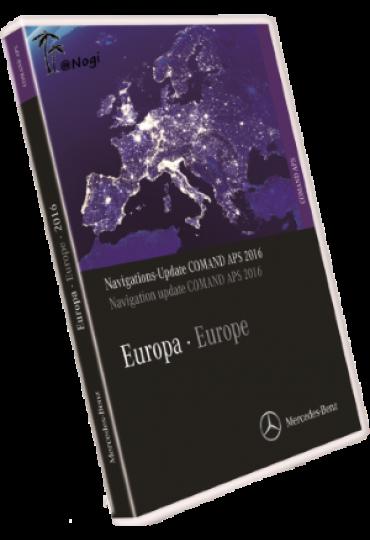 DVD GPS Mercedes 2017 V14 Comand APS NTG4 W204 navigation Europe