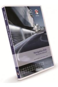 DVD GPS Opel Vauxhall 2018 2019 EHU4 / DVD90 navigation Europe