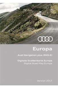 DVD GPS SEAT 2017 RNS-E Média System E Navigation Europe ( Audi RNS-E ) 8P0 060 884 CM / 8P0 919 884 CM