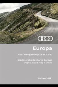DVD GPS Audi 2018 RNS-E navigation Plus Europe 8P0 060 884 CS / 8P0 919 884 CS