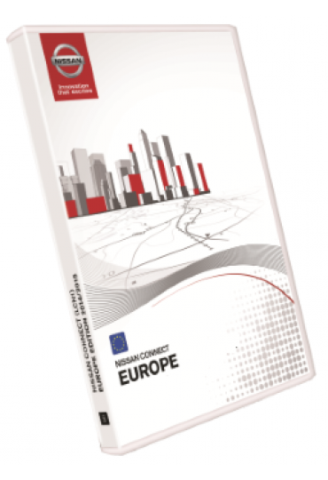 SD Carte GPS NISSAN Connect 2TM  2014 2015 navigation Europe