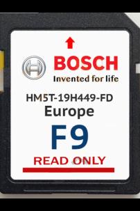 SD carte GPS Ford 2016 travelpilot MCA Tele Atlas navigation Europe