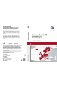 SD carte GPS Volkswagen 2015 V7 RNS315 Travelpilot navigation Europe